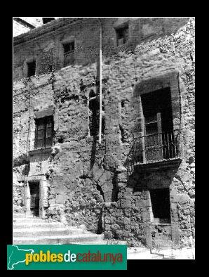 Montblanc - Casal dels Josa, abans de la restauració