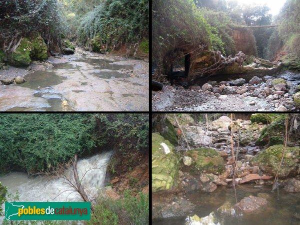 Castellar del Vallès - Mas de Can Bages, el torrent