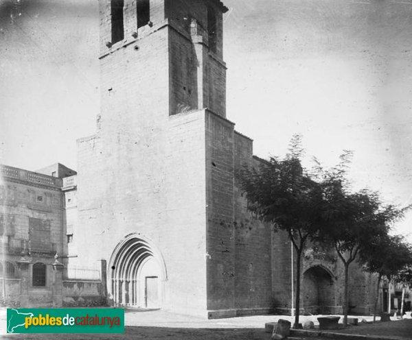 L'Espluga de Francolí - Església vella de Sant Miquel, 1917
