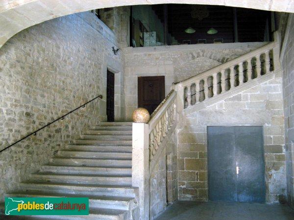 Santa Coloma de Queralt - Castell, escalinata