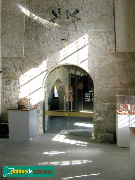 Santa Coloma de Queralt - Castell, entrada primitiva