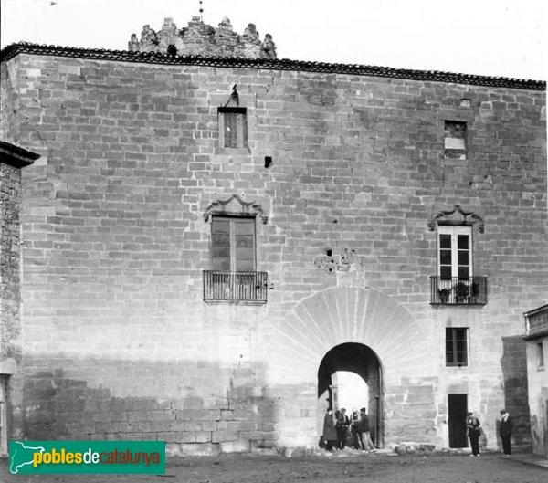 Santa Coloma de Queralt - Castell, 1912