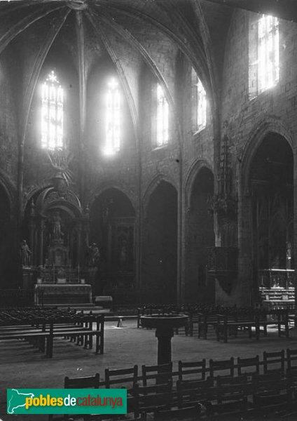 Santa Coloma de Queralt - Església de Santa Maria, 1923 (2)