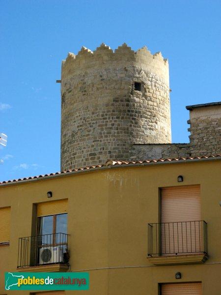 Santa Coloma de Queralt - Castell, torre de l'Homenatge