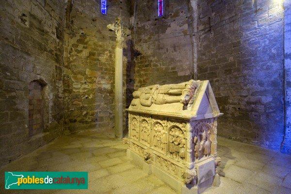 Santa Coloma de Queralt - Sepulcre de Pere V de Queralt i Alamanda