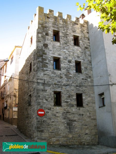 Santa Coloma de Queralt - Torres del portal d'en Roca