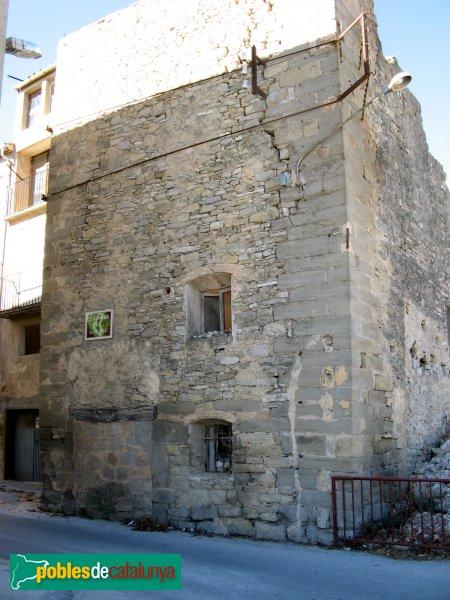 Santa Coloma de Queralt - Torre de la muralla