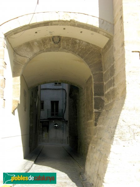 Santa Coloma de Queralt - Portal de Santa Maria