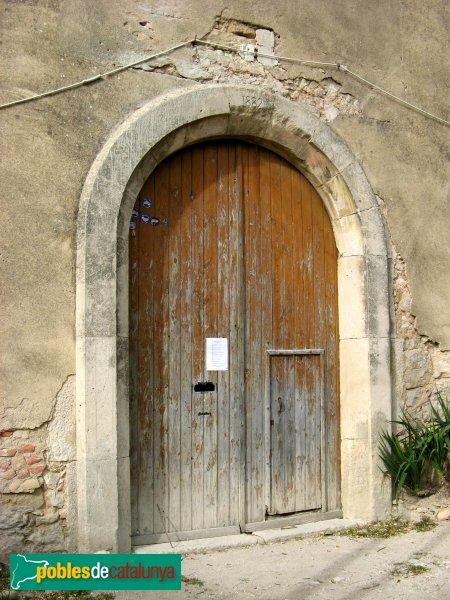 Pontils - Sant Magí de la Brufaganya, portal