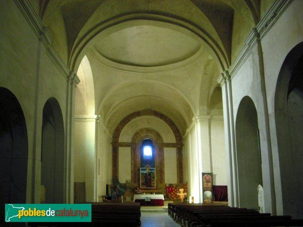 Pontils - Sant Magí de la Brufaganya, interior del temple