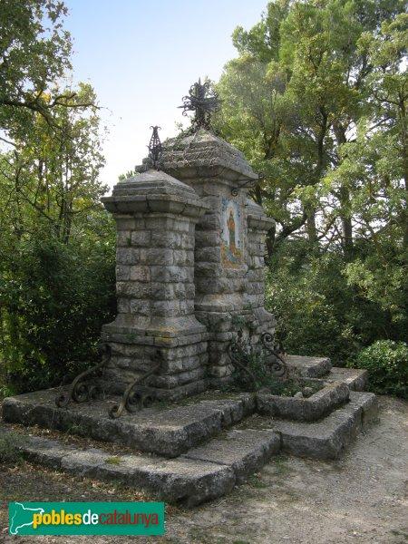 Pontils - Sant Magí de la Brufaganya, creu monumental