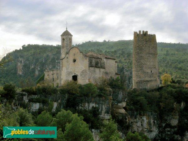 Pontils - Castell i església de Santa Perpètua de Gaià