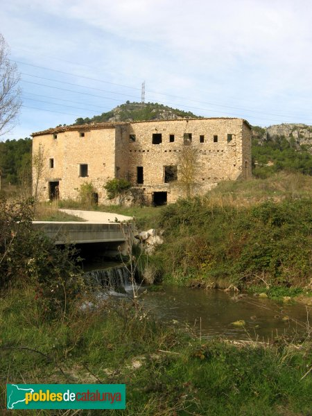 Pontils - Molí de Seguer
