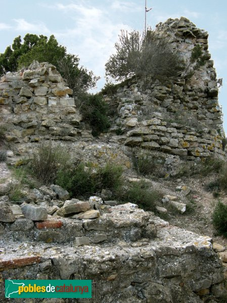 Pontils - Castell de Montclar