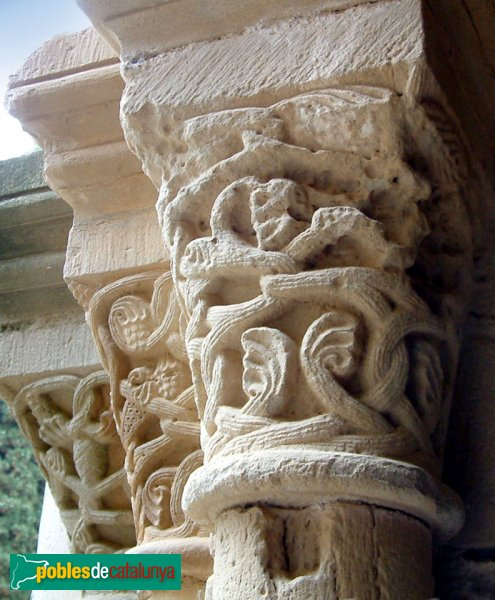 Monestir de Poblet - Capitell del claustre