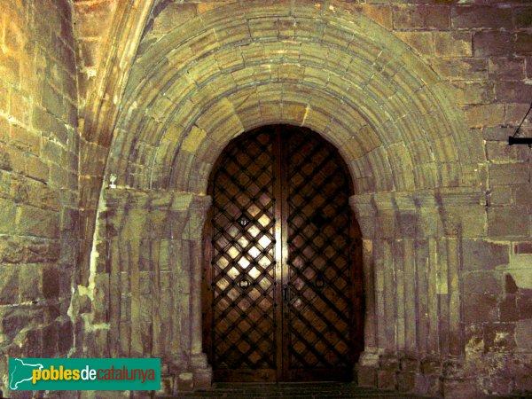 Monestir de Poblet  - Porta del claustre
