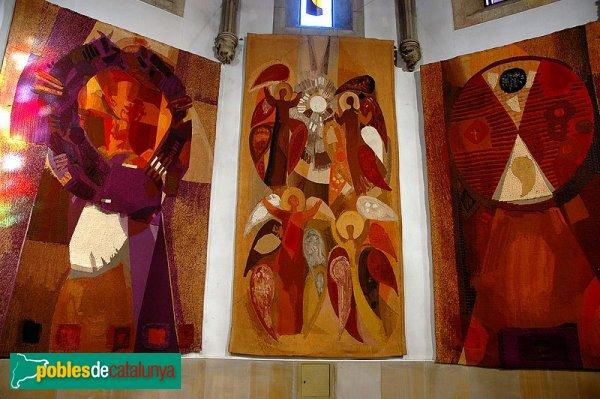 Argentona - Sant Julià, tapissos de Grau Garriga
