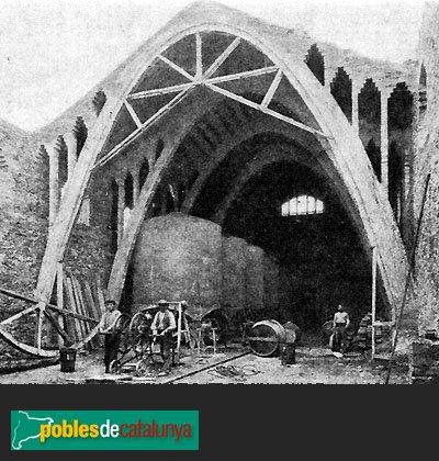 Rocafort de Queralt - El celler quan es construïa