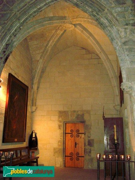 Vallfogona de Riucorb - Església de Santa Maria, capella gòtica