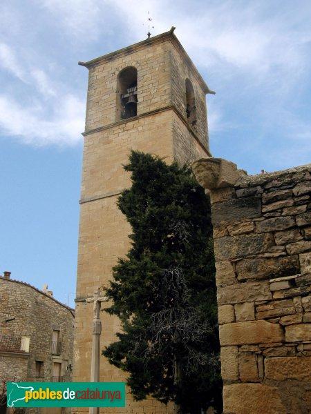 Vallfogona de Riucorb - Església de Santa Maria, campanar