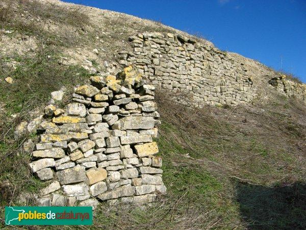 Llorac - Restes del castell de Montargull