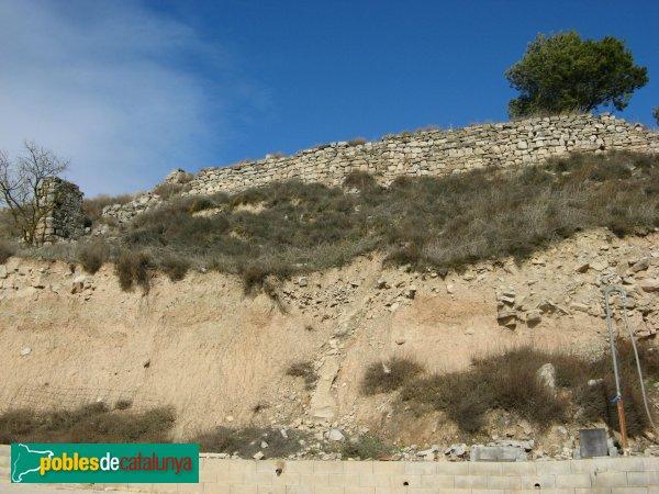Llorac - Restes del castell d'Albió