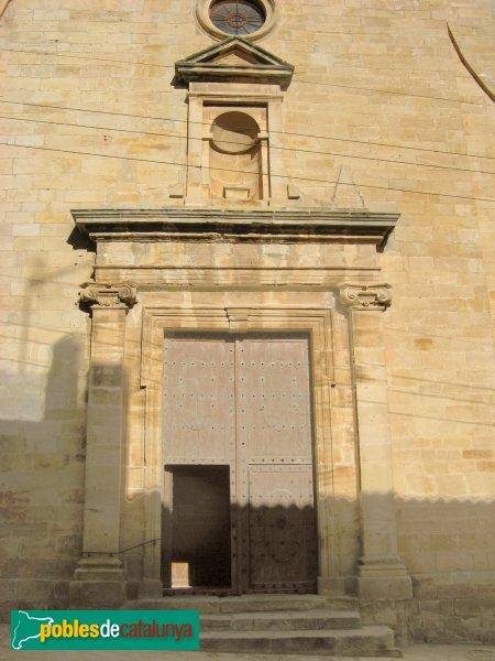 Vallclara - Església de Sant Joan, portada