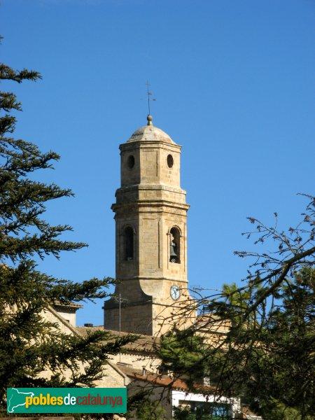 Vallclara - Església de Sant Joan, campanar