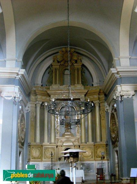 Vallclara - Església de Sant Joan, interior