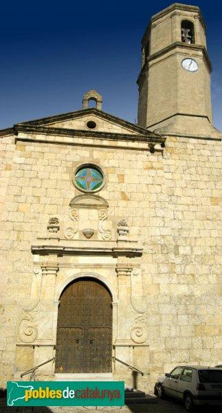 Vilanova de Prades - Església de Sant Salvador