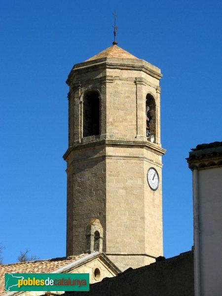 Vilanova de Prades - Església de Sant Salvador,campanar