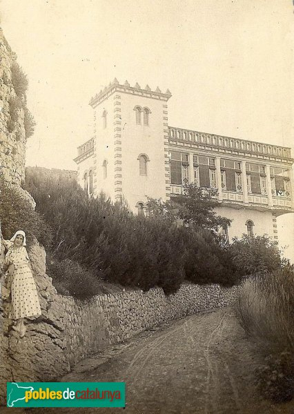 Sant Martí d'Empúries - Casa del Servei Forestal, primera meitat segle XX