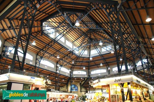 Interior del mercat