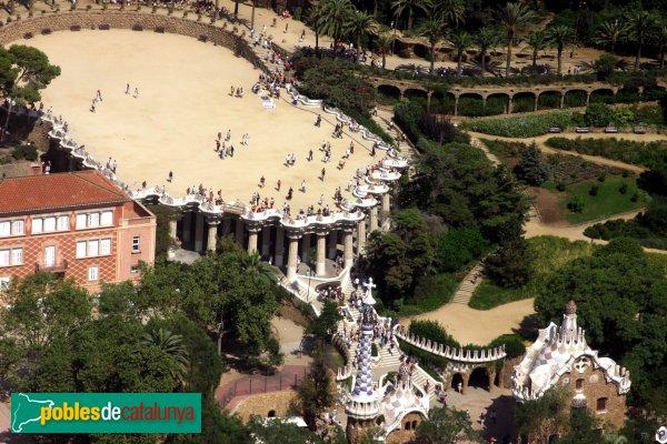 Barcelona - Parc Güell, plaça