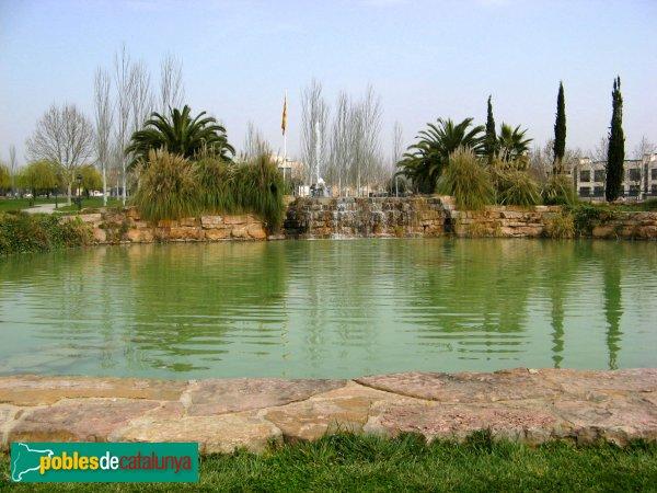 Sant Quirze del Vallès - Parc de les Morisques, estany