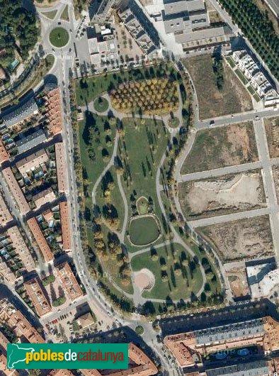 Sant Quirze del Vallès - Parc de les Morisques, vista aèria