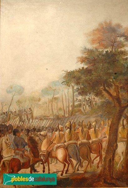 Rellinars - Mas les Ferreres, còpia d'una de les pintures