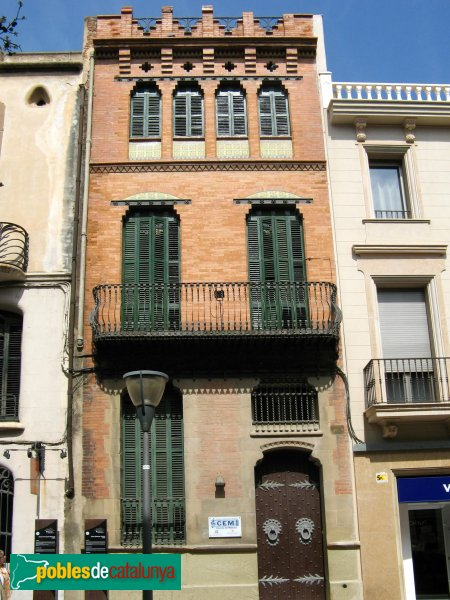 Terrassa - Casa Baltasar Gorina