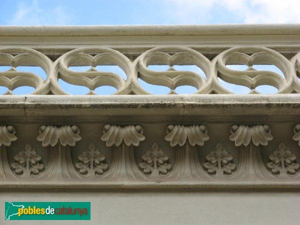 Terrassa - Casa Joaquim Freixa, detall