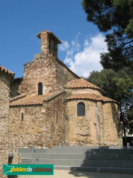 Terrassa - Església de Sant Pere, capçalera