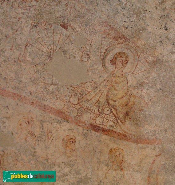 Terrassa - Església de Sant Miquel - Pintures murals de l'absis