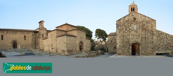 Terrassa - Conjut de les esglésies de Sant Pere