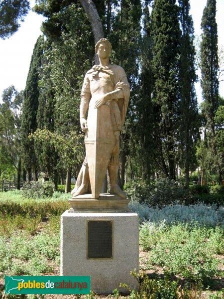 Terrassa - Escultura Sant Jordi
