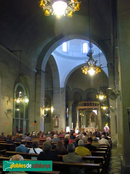 Rubí - Església de Sant Pere, interior