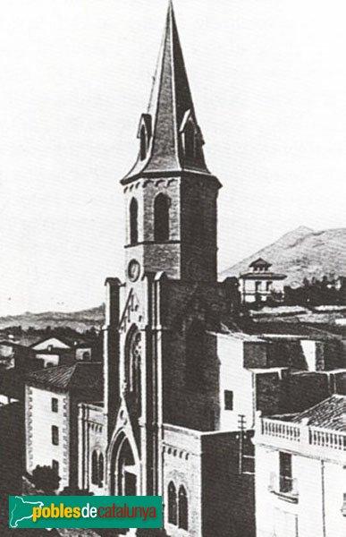 Montcada i Reixac - Església neogòtica destruïda el 1936
