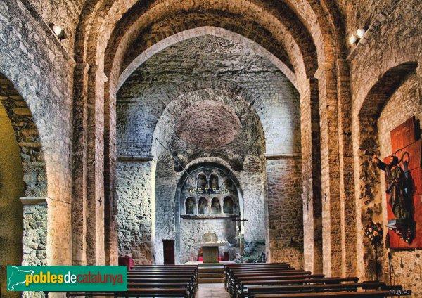 Terrassa - Església de Sant Pere, interior