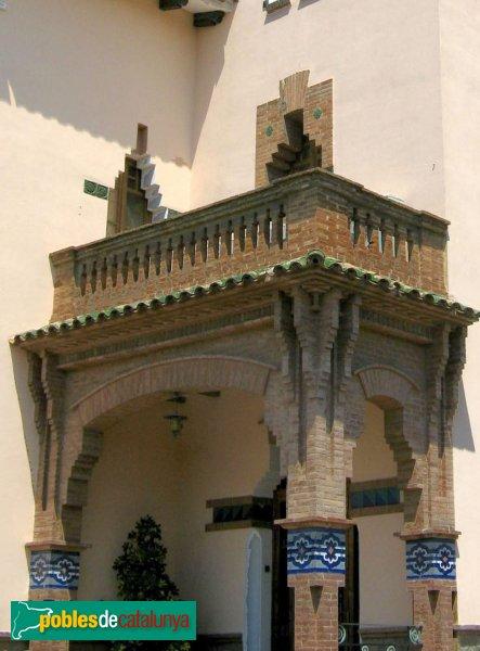 Montcada i Reixac - Torre de can Bonet, detall
