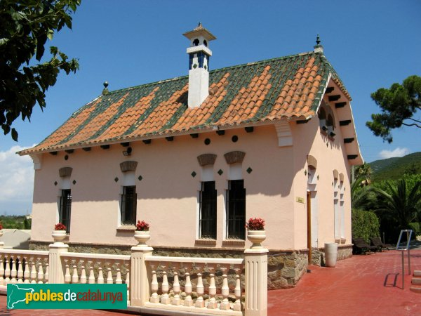 Montcada i Reixac - Torre de can Bonet, pavelló auxiliar
