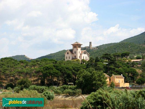 Montcada i Reixac - Torre de can Bonet i església de Sant Pere de Reixac