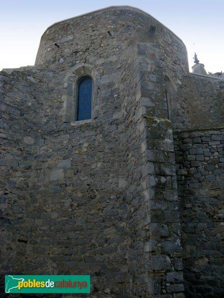 Fortià - Església de Sant Julià, absis